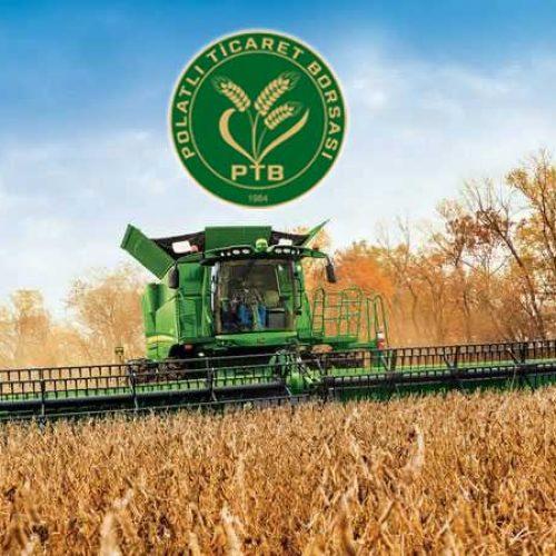TMO Genel Müdürlüğü'nün Polatlı, Kaymaz Lisanslı Depolarında bulunan Düşük Vasıflı Ekmeklik Buğdayları Elektronik Ürün Senedi (ELÜS) üzerinden satışa açıldı