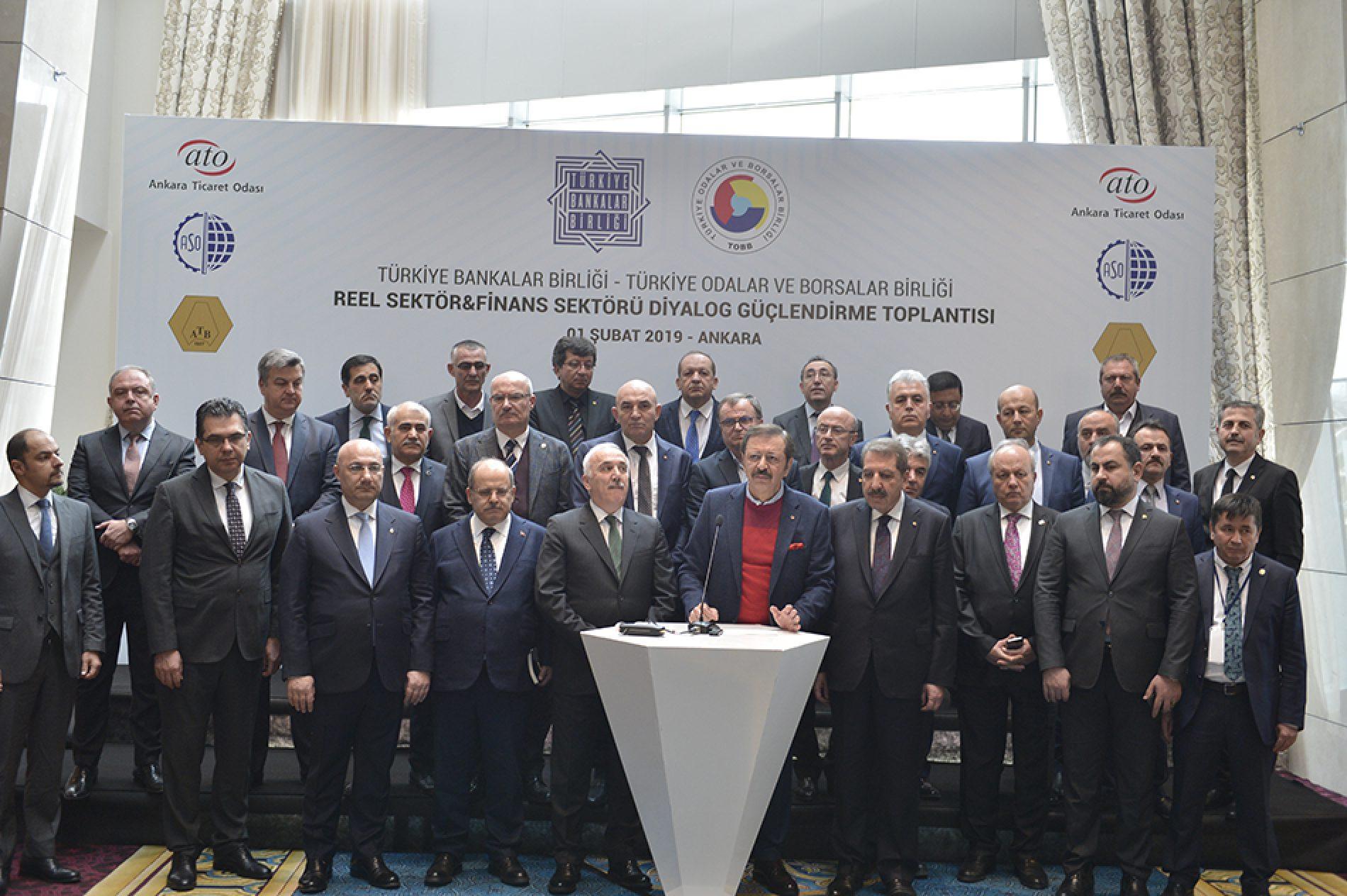 BANKALAR İSTİŞARE TOPLANTISI ANKARA'DA YAPILDI…