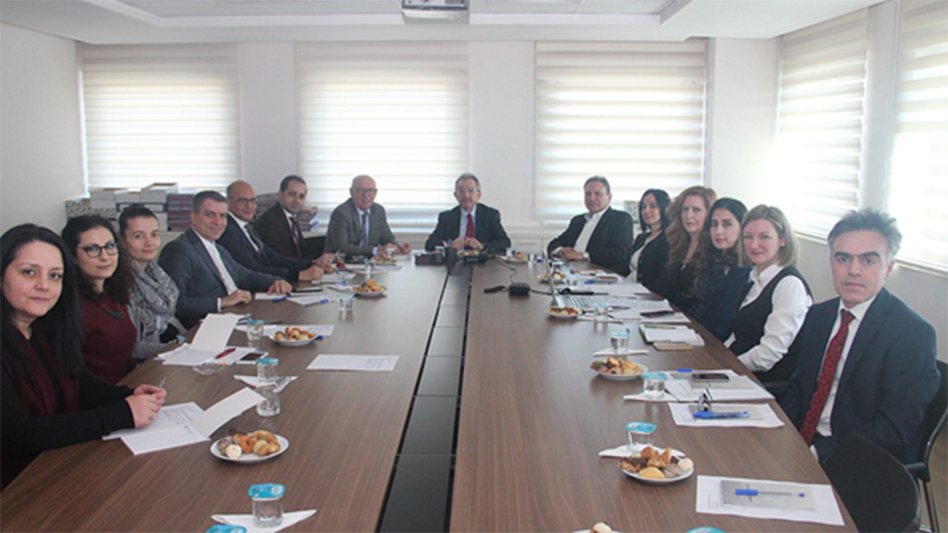 """Ankara Ticaret Borsası (ATB) ev sahipliğinde """"Ankara Oda/Borsa İstişare Toplantısı"""" yapıldı."""