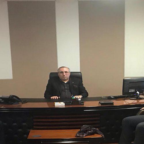 Türk Ekonomi  Bankası Şube Müdürü SnErdinç ERDEM Başkanımız Sn Yahya TOPLU'yu Makamında ziyaret etti…