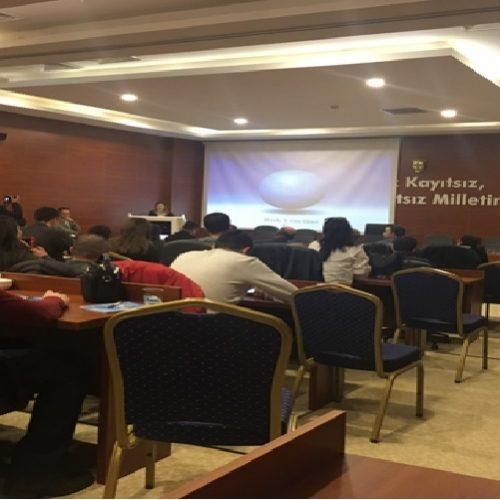 """Kırşehir'de yapılan """"Akreditasyon Bilgi Paylaşımı Toplantısı""""na Borsamız da katıldı…"""