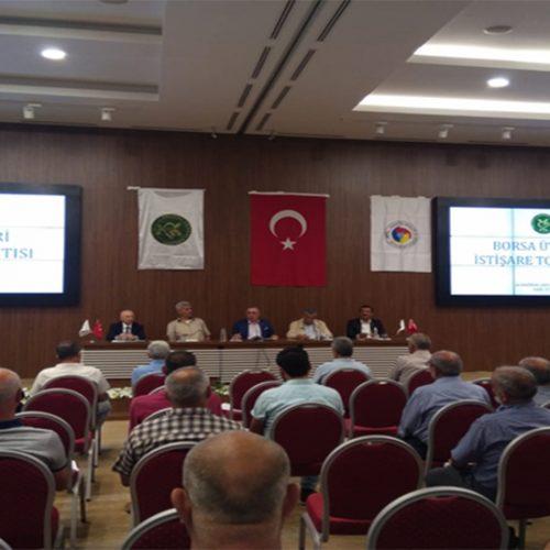 Borsa Üyeleri İstişare Toplantısı Yapıldı…