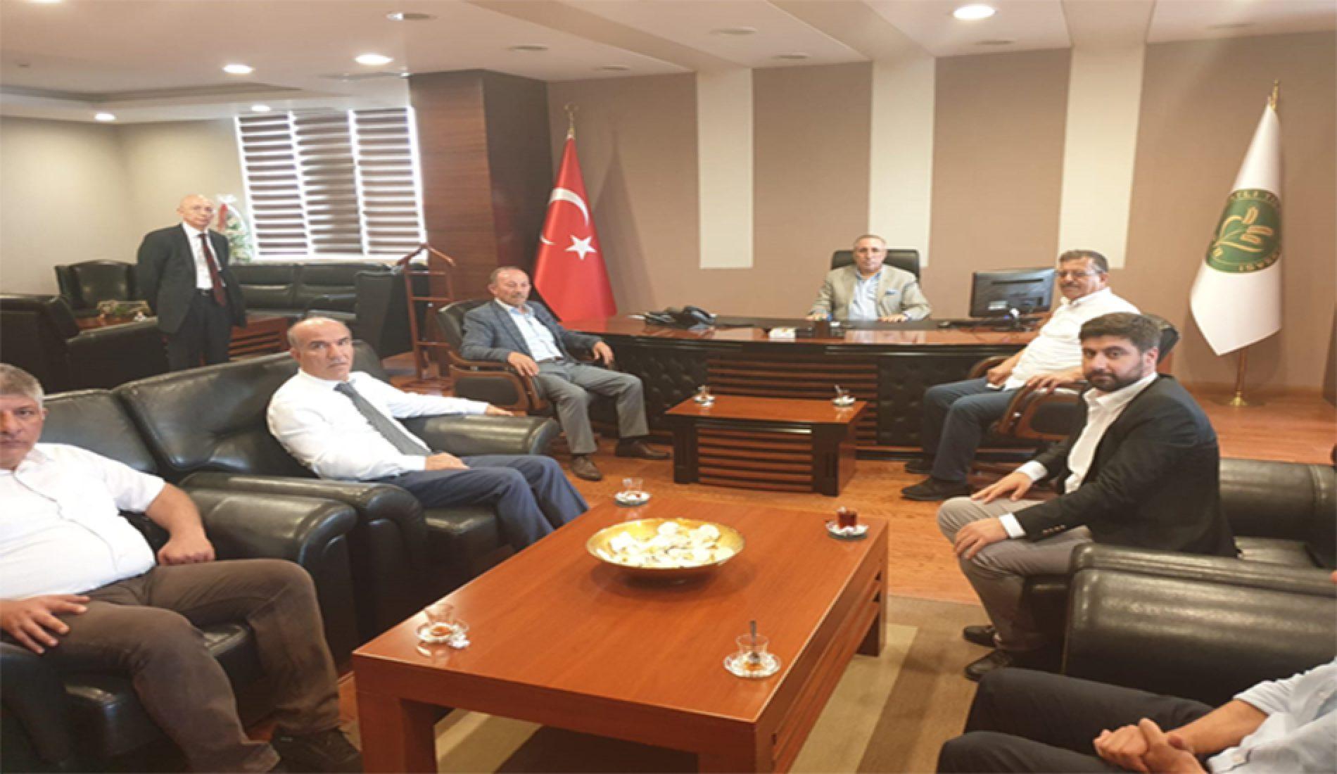 Türkiye Tarım Kredi Kooperatifleri Merkez Birliği Yetkilileri Borsamızı ziyaret etti…
