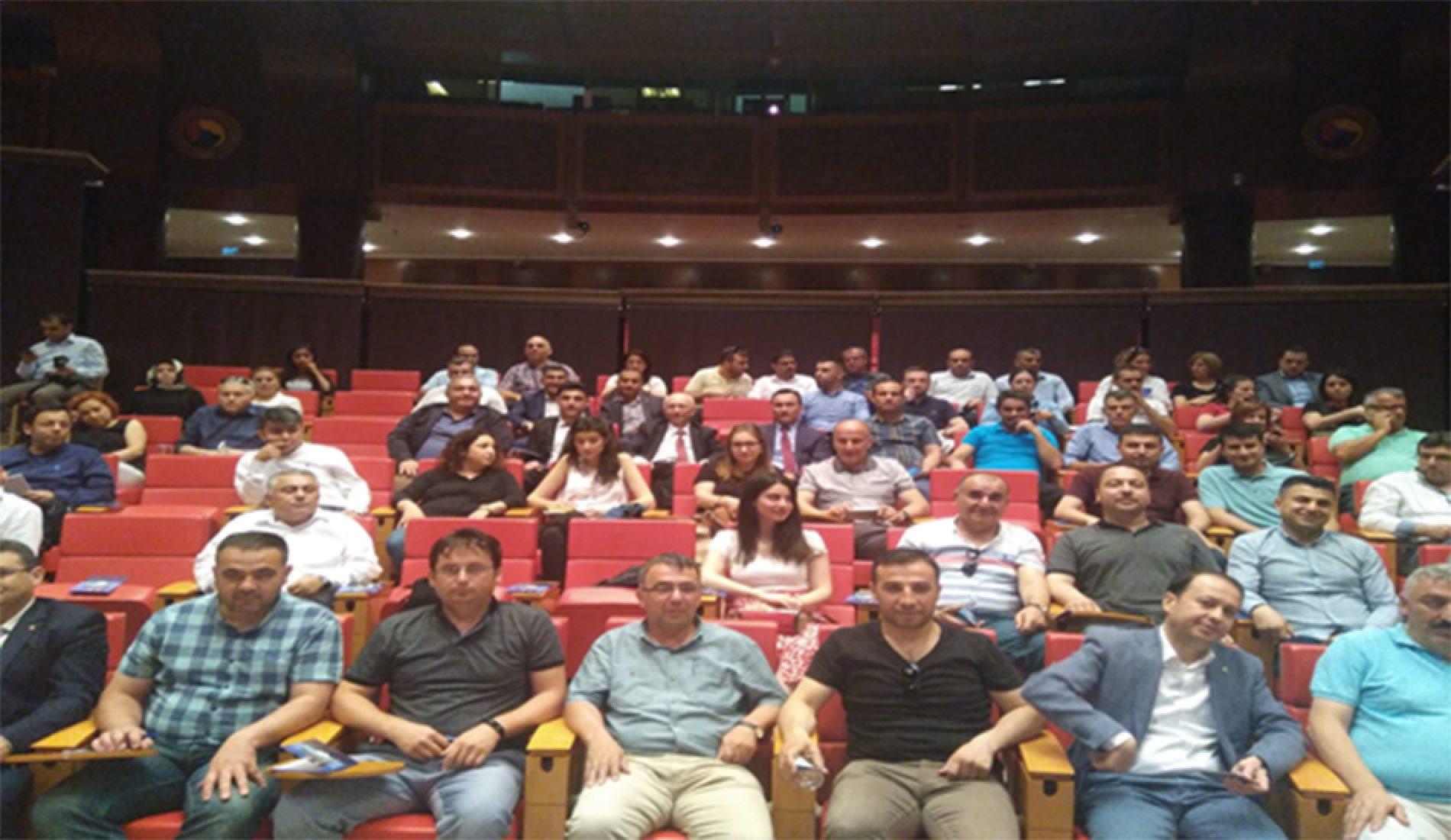 """""""Türkiye Ürün İhtisas Borsası"""" (ÜRİB) Bilgilendirme ve Değerlendirme Toplantısı yapıldı…"""