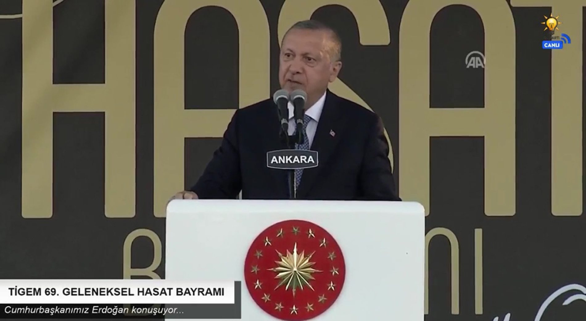 Başkanımız Yahya TOPLU, TİGEM Polatlı 69. Geleneksel Hasat Bayramına katıldı…