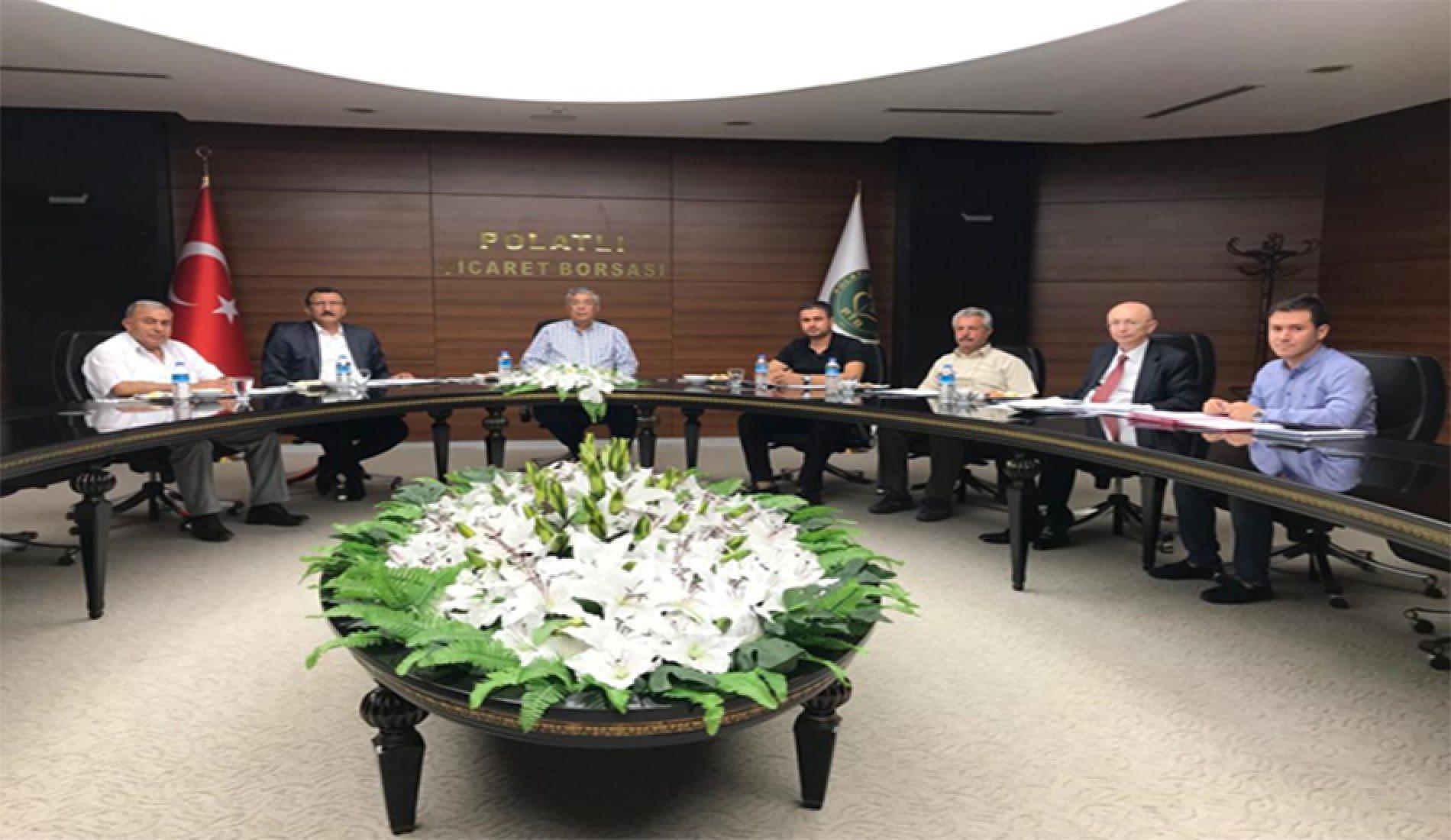 Borsa  Polatlı  Laboratuar  Hizmetleri  A.Ş.  Yönetim  Kurulu  Toplantısı  Yapıldı…