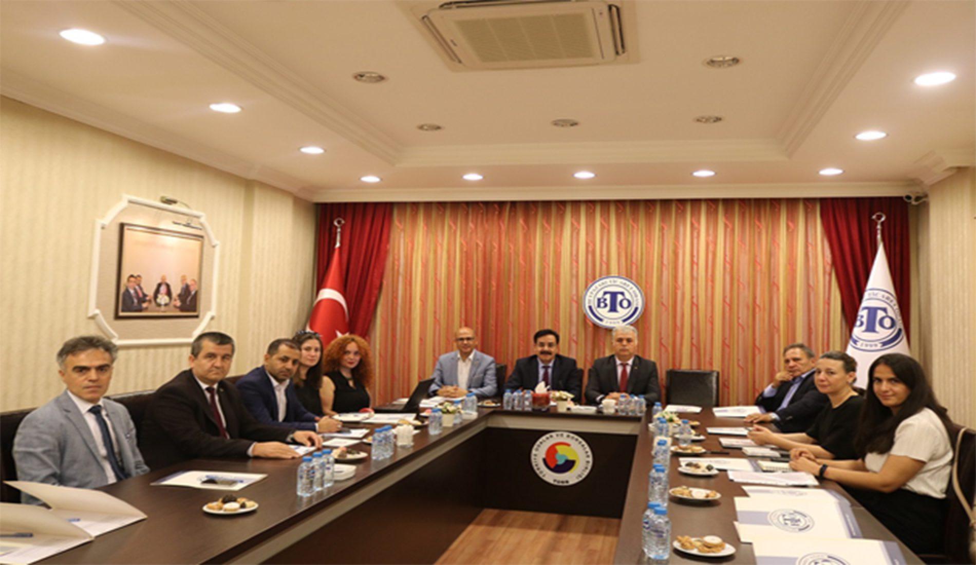 """Mesleki Eğitim ve Beceri Geliştirme İşbirliği (MEGİP) İl Çalışma Grup Toplantısı""""na Borsamız da katıldı…"""