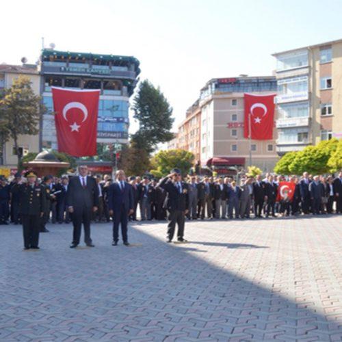 """Genel  Sekreter  Yardımcımız  Tugay  AYDOĞDU  """"19  Eylül  Gaziler Günü""""  etkinliğine katıldı…"""