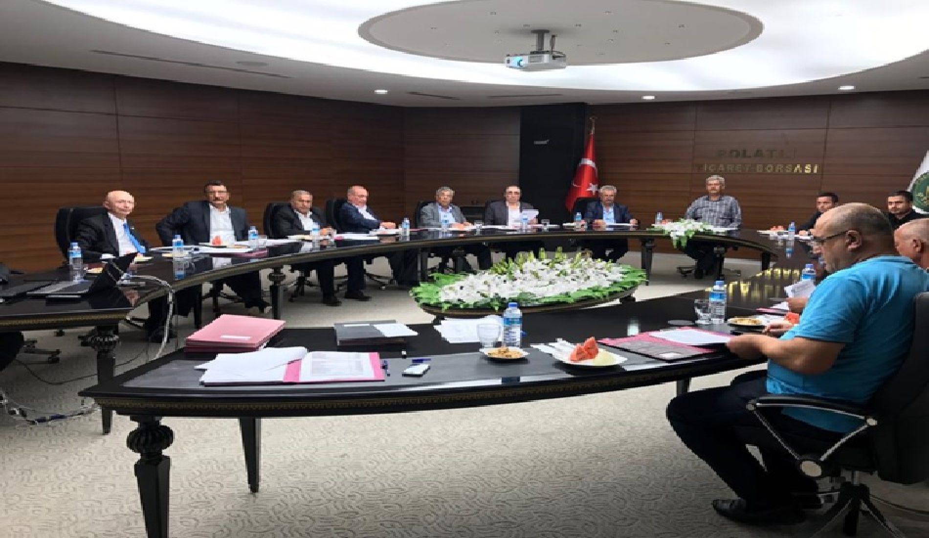 Borsamızın Meclis Toplantısı Yapıldı…