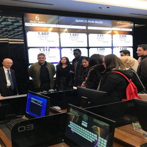Ankara Üniversitesi Ziraat Fakültesi Tarım Ekonomisi Bölümü Öğrencileri Borsamızı ziyaret ettiler…