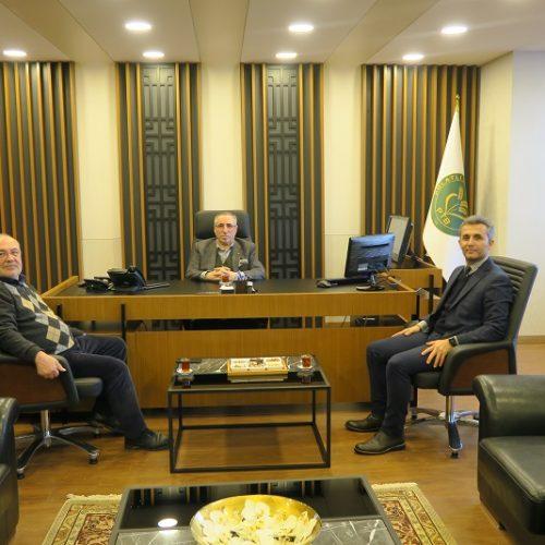 Polatlı Halk Eğitim Merkezi Müdürü Bülent DÖNMEZ, Başkanımız Yahya TOPLU'yu Makamında ziyaret etti…