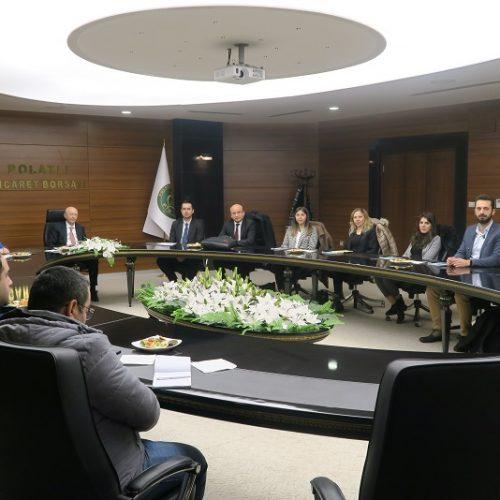 Türkiye  Ürün  İhtisas  Borsası  (TÜRİB) Heyeti Borsamızı ziyaret etti…