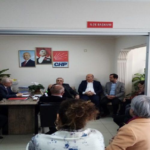 Başkanımız Sn Yahya TOPLU Cumhuriyet Halk Partisi (CHP) Polatlı İlçe Başkanlığı'nı Ziyaret Etti…
