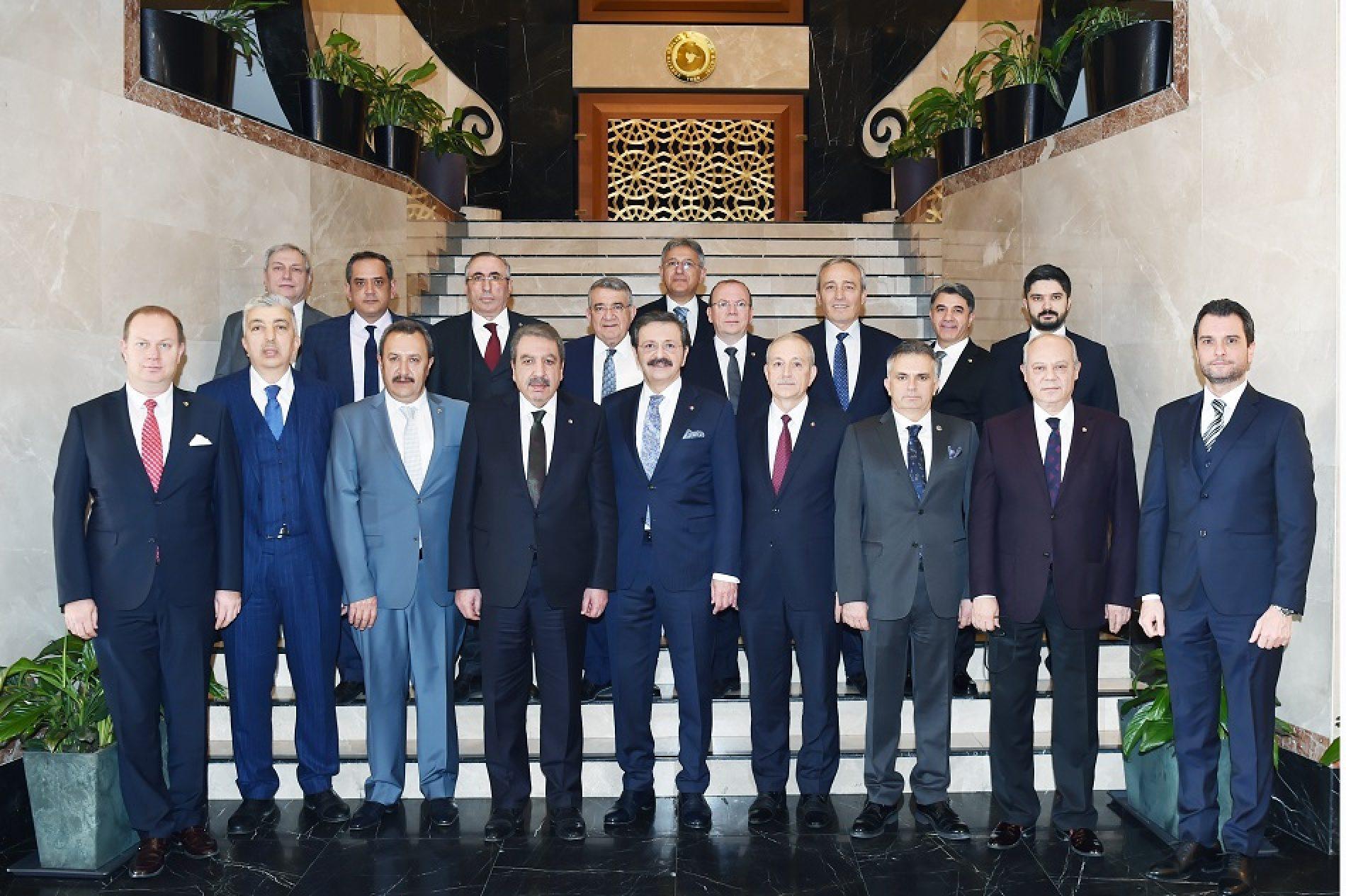 Başkanımız Sn Yahya TOPLU TÜRİB Yüksek İstişare Kurulu Toplantısı'na Katıldı…