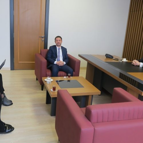 Türkiye Ürün İhtisas Borsası (TÜRİB) Yetkilileri Borsamızı ziyaret ettiler…
