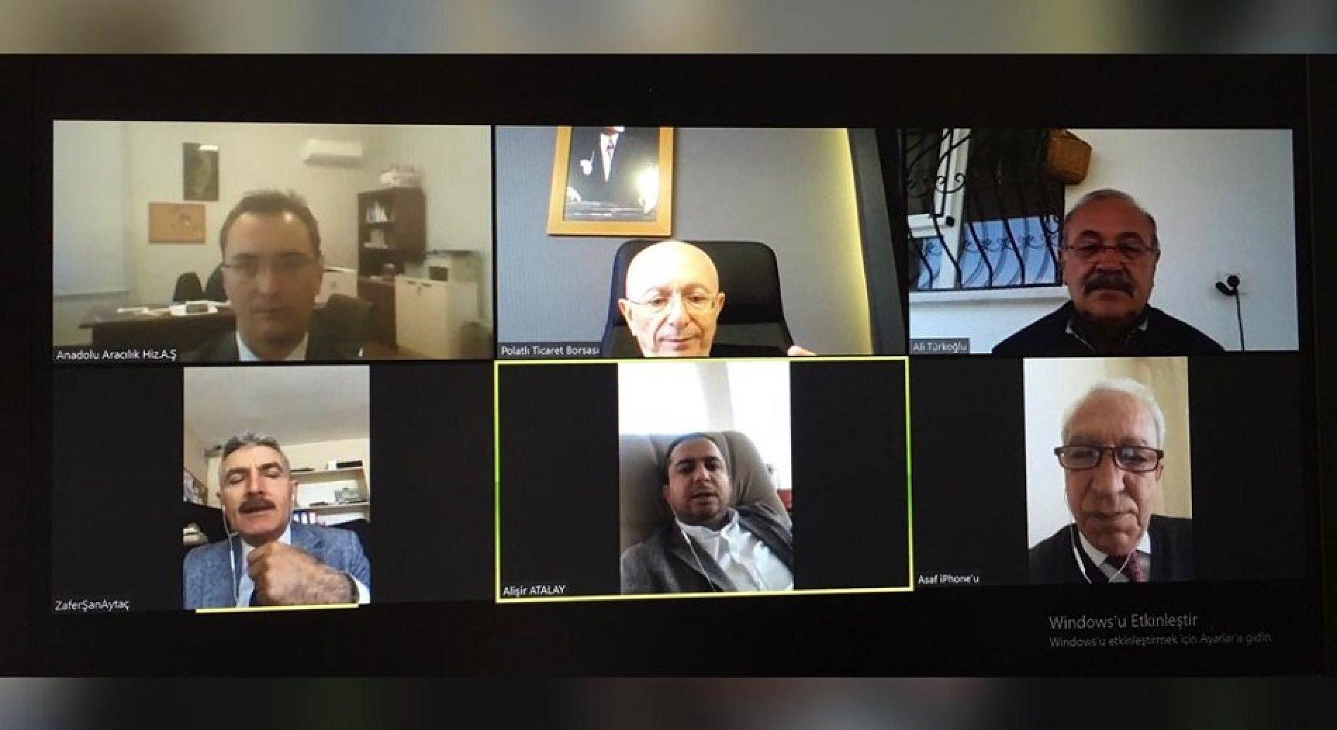 """Anadolu Aracılık Hizmetleri A.Ş Yönetim Kurulu Toplantısı """"Video Konferans Yöntemi"""" ile Gerçekleştirildi…"""