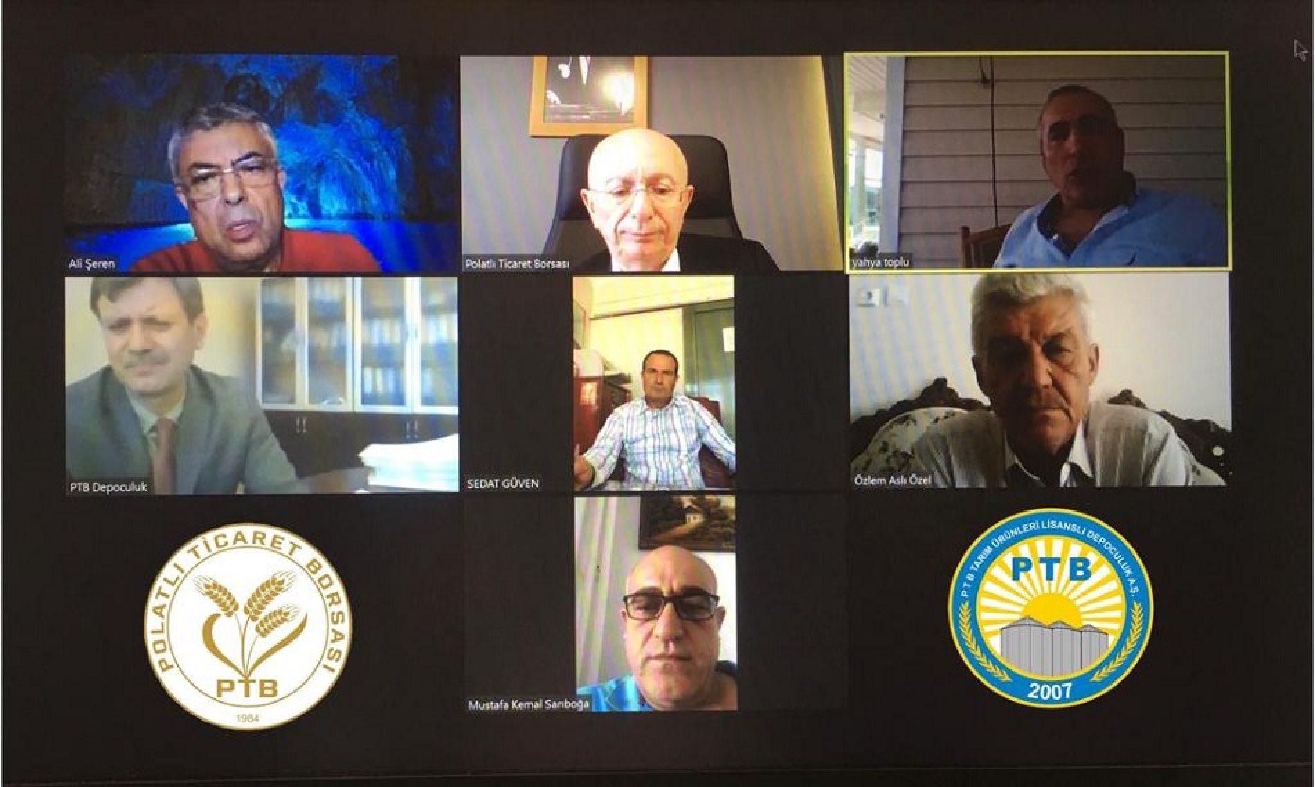 """PTB Lisanslı Depoculuk Hizmetleri A.Ş Yönetim Kurulu Toplantısı """"Video Konferans Yöntemi"""" ile Gerçekleştirildi…"""