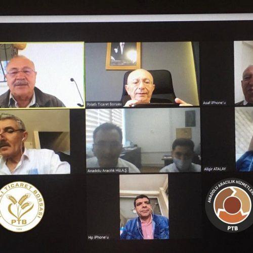 """Anadolu Aracılık Hizmetleri A.Ş Yönetim Kurulu Toplantısı """"Video Konferans Yöntemi """" ile Gerçekleştirildi…"""