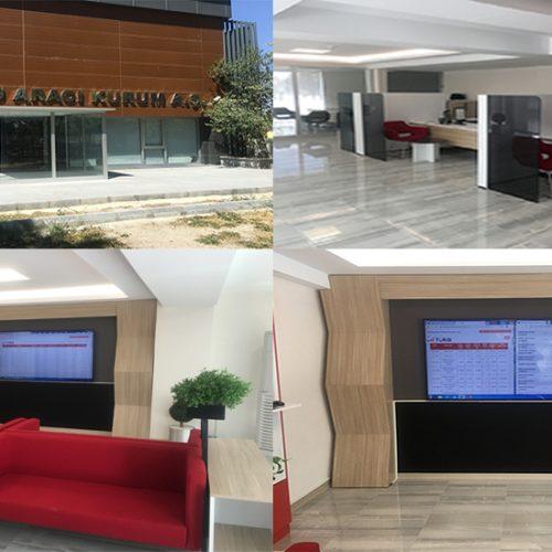 """Borsamızın İştiraki Olan """"Anadolu Aracılık Hizmetleri A.Ş."""" Yeni Yerinde ve Yeni Yapısıyla Faaliyete Geçmiştir…"""