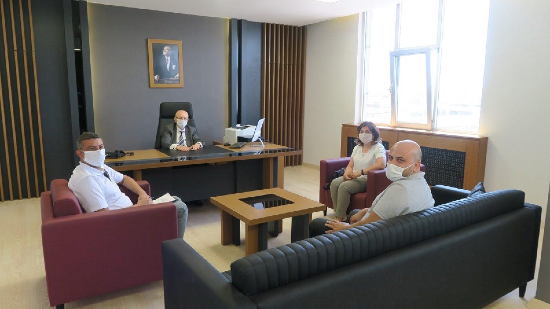 Ankara Üniversitesi Ziraat Fakültesi Öğretim Üyeleri Borsamızı ziyaret ettiler…