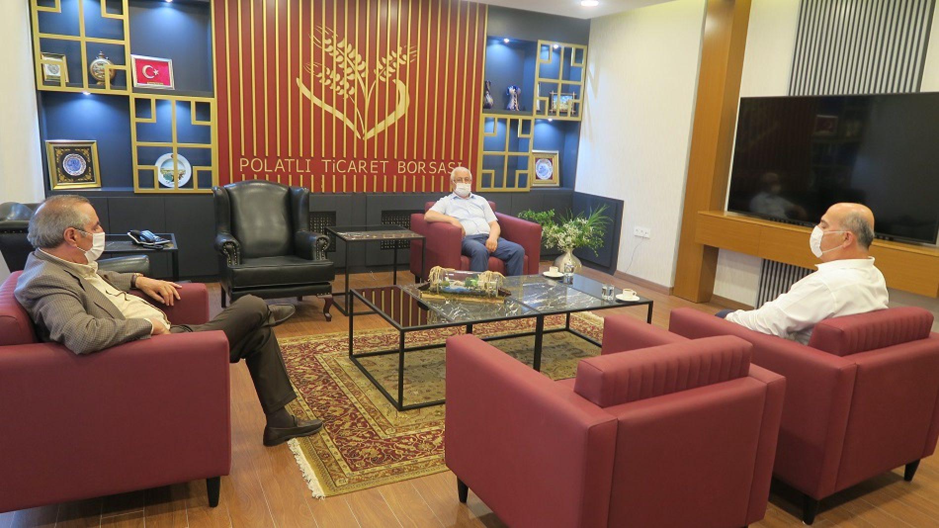 Cumhuriyet Halk Partisi (CHP) İlçe Başkanı Borsamızı ziyaret etti…