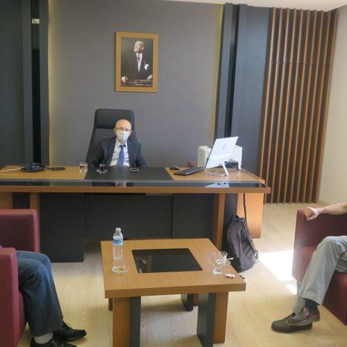 İstanbul İstinye Üniversitesi Öğretim Üyesi Borsamızı ziyaret etti…