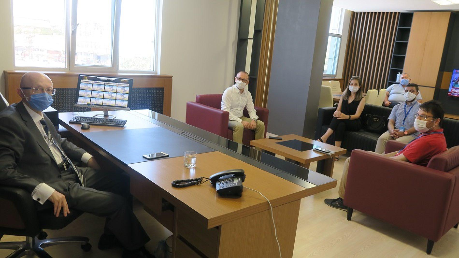 TOBB Türkiye Odalar ve Borsalar Birliği Yazılım Müdürlüğü Yetkilileri Borsamızı Ziyaret etti…