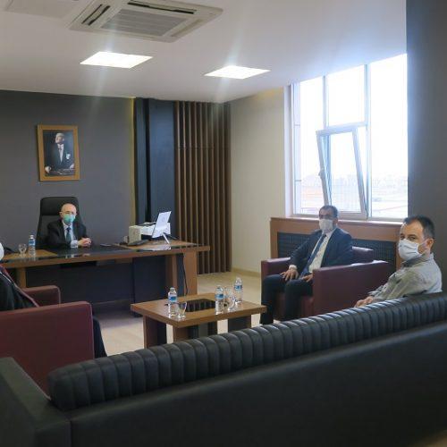 Polatlı Milli Eğitim Müdürü Sn Yusuf UYMAZ Borsamızı Ziyaret etti…