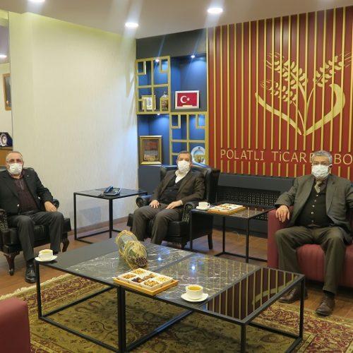 Polatlı Kaymakamı Sn Murat BULACAK, Başkanımız Yahya TOPLU'yu Makamında ziyaret etti…