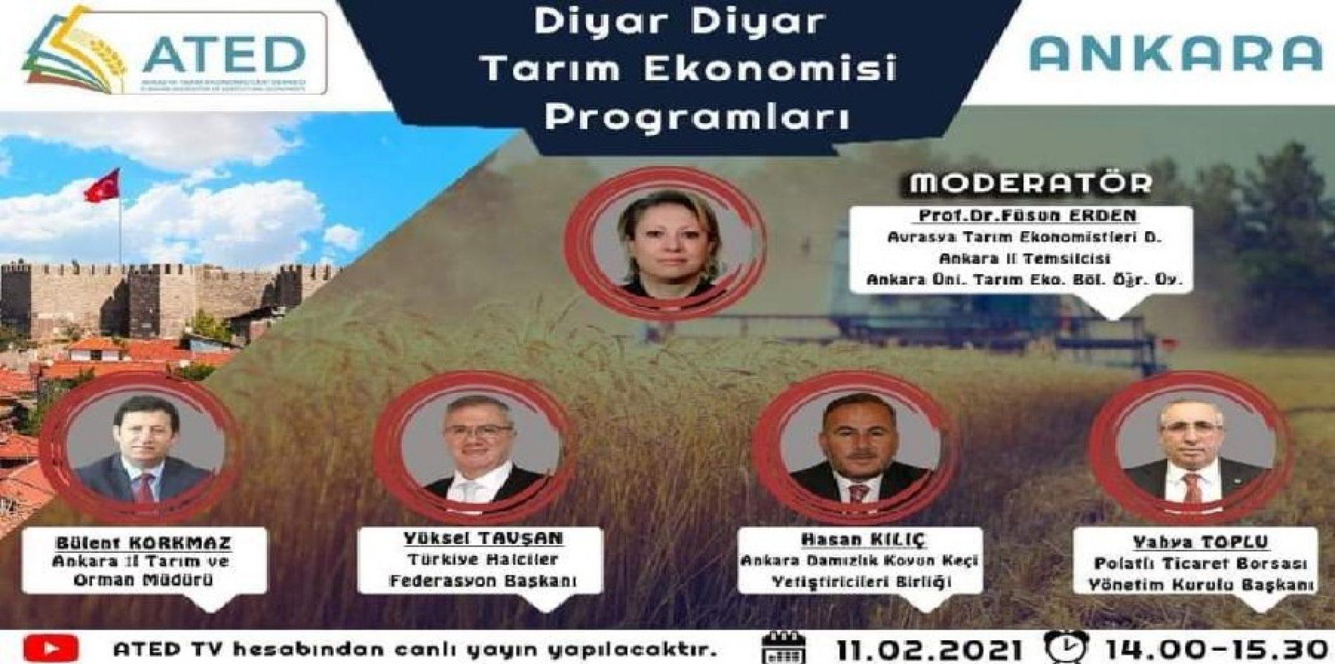 """Başkanımız Sn Yahya TOPLU """"Diyar Diyar Tarım Programları""""na Konuk Oldu…"""