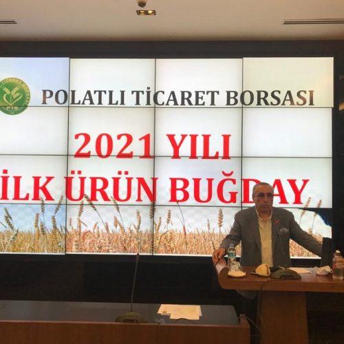 """Borsamızda 2021 Yılı Mahsulü İlk Ürün """"BUĞDAY"""" Satışı gerçekleştirildi…"""