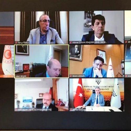 """Başkanımız Sn Yahya TOPLU """"Lisanslı Depoculuk Çalıştayı""""na katıldı…"""