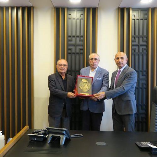 Polatlı Tarihi Alanlar Tanıtım Merkezi (POTA) Genel Koordinatörü Sn Kadim KOÇ Başkanımız Sn Yahya TOPLU'yu ziyaret etti…
